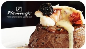 Fleming's Gift Card rounded